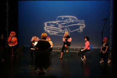 """Telephone Hour"" performed by Joyce, Xiomy, Donna, and Francine"