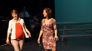 Laura and Julie singing 'Take me or Leave me' from Rent
