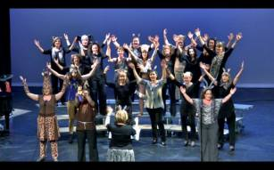 An epic end to our 'Lion King' medley!