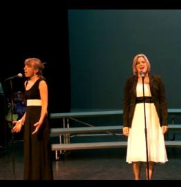 Kirsten and DeAnna getting emotional while singing 'I Know Him So Well' from 'Chess'