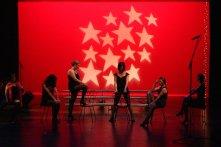 Angelica, Chiara, DeAnna, Julie, Rachel, Laura do 'The Cell Block Tango' from Chicago.